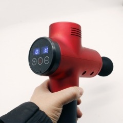 Power Massager 16.8V 24V 2600mAh Deep Tissue Massage Gun(CE, MSDS)